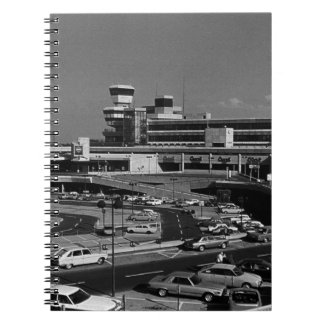 ヴィンテージドイツベルリンTegel空港1970年 ノートブック