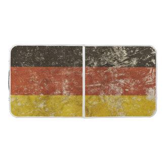 ヴィンテージドイツ旗が付いているPongのテーブル ビアポンテーブル