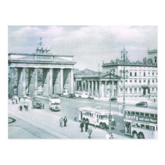 ヴィンテージドイツ、ベルリンブランデンブルク門 ポストカード