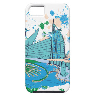 ヴィンテージドバイ私達eのデザイン iPhone SE/5/5s ケース