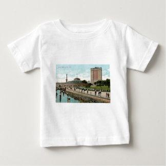 ヴィンテージニューヨークの電池公園 ベビーTシャツ