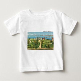 ヴィンテージニューヨークシティのアクアリウム、電池公園 ベビーTシャツ