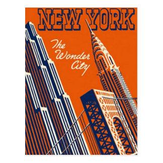 ヴィンテージニューヨークシティ、米国- ポストカード