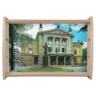 ヴィンテージノルウェー、オスロの国立劇場 トレー