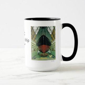 """ヴィンテージノルウェー、オスロNansenの船""""Fram """" マグカップ"""