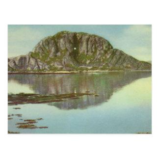 ヴィンテージノルウェー、Torghatten、Nordland、 ポストカード