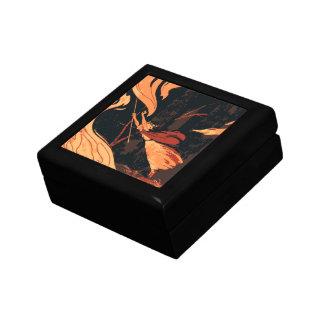 ヴィンテージハロウィンの森林の火を持つ邪悪な魔法使い ギフトボックス