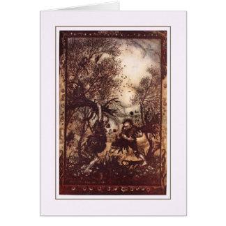 ヴィンテージハロウィン カード