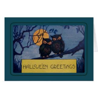 ヴィンテージハロウィン グリーティングカード
