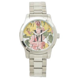 ヴィンテージバラのモノグラムのな腕時計 リストウォッチ