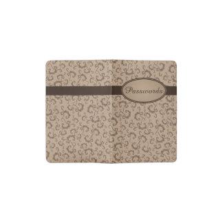 ヴィンテージパターンカスタマイズ可能な小型ノート ポケットMoleskineノートブック