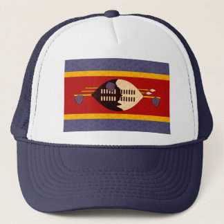 ヴィンテージパターンスワジ族の旗 キャップ