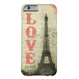 ヴィンテージパリ BARELY THERE iPhone 6 ケース