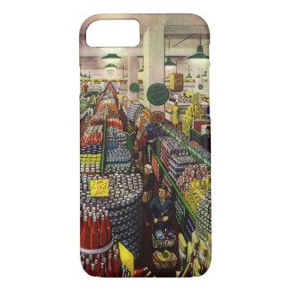 ヴィンテージビジネススーパーマーケット、食糧および飲料 iPhone 8/7ケース