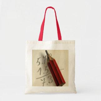 ヴィンテージビジネス、赤い鉛筆との数学の同等化 トートバッグ