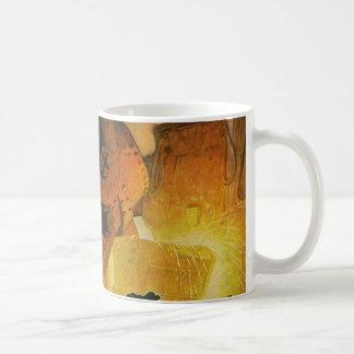 ヴィンテージビジネス、鋼鉄製造工業 コーヒーマグカップ
