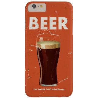 ヴィンテージビールコマーシャルポスター BARELY THERE iPhone 6 PLUS ケース