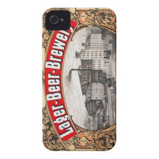 ヴィンテージビールビール醸造所H&J Pfaffのラガーボストン Case-Mate iPhone 4 ケース