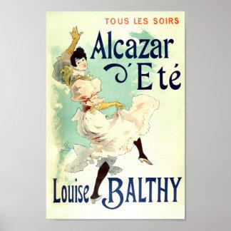 ヴィンテージフランスのな広告のルイーズBalthy ポスター