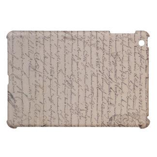 ヴィンテージフランスのな文書の18世紀 iPad MINIカバー