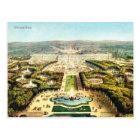 ヴィンテージフランス、Palais deバーセイルズ ポストカード