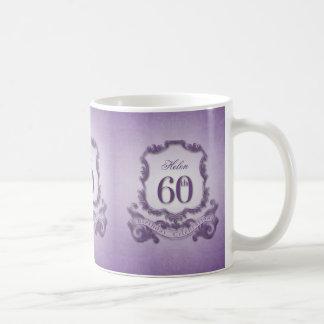 ヴィンテージフレーム第60の誕生祝いのマグ コーヒーマグカップ