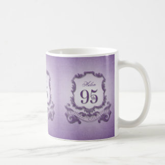 ヴィンテージフレーム第95の誕生祝いのマグ コーヒーマグカップ