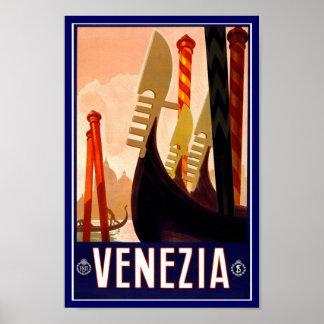 ヴィンテージポスタープリントVenezia ポスター