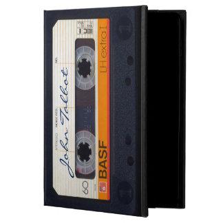 ヴィンテージレトロのファッションドな80s Mixtapeのオーディオ・テープIP iPad Airケース