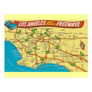 ヴィンテージロサンゼルス ポストカード