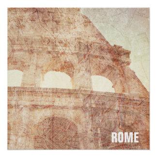 ヴィンテージローマのColosseum ポスター