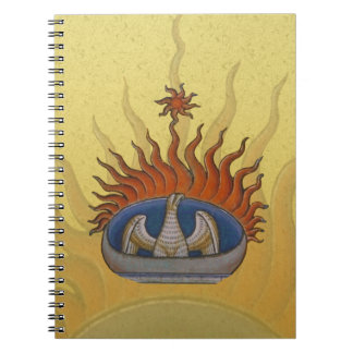 ヴィンテージ上昇のフェニックス神話的なFirebird ノートブック