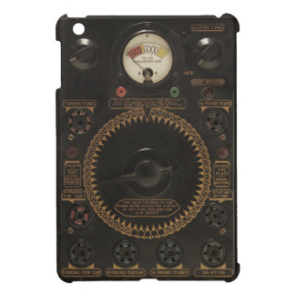 ヴィンテージ信号のラジオ iPad MINI CASE