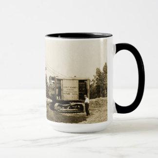 ヴィンテージ北西クレーンローディングワゴン マグカップ