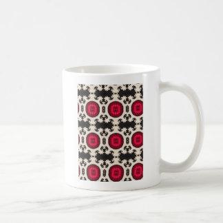 ヴィンテージ南西種族パターンプリント コーヒーマグカップ