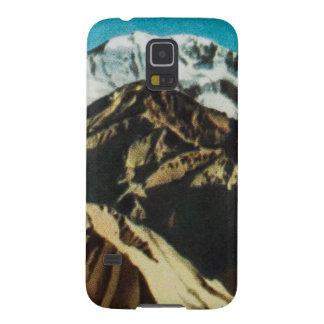 ヴィンテージ山の絵、古いスケッチ GALAXY S5 ケース