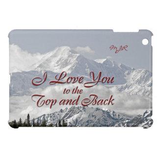 ヴィンテージ山: 私は上および背部に愛します iPad MINIカバー