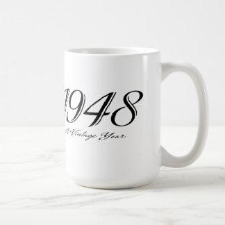 ヴィンテージ年1948のマグ コーヒーマグカップ