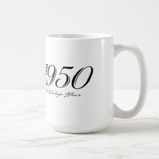 ヴィンテージ年1950のマグ コーヒーマグカップ