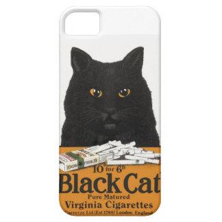 ヴィンテージ広告黒猫のヴァージニアのタバコ iPhone SE/5/5s ケース