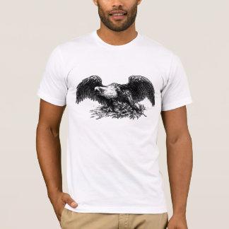 ヴィンテージ戦争のワシ Tシャツ