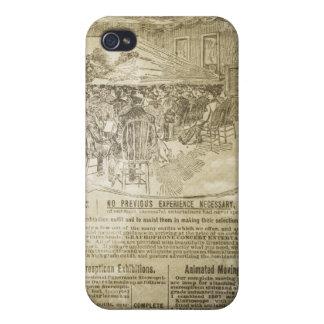 ヴィンテージ新聞プリントのSpeckの場合iPhone4 iPhone 4/4S ケース