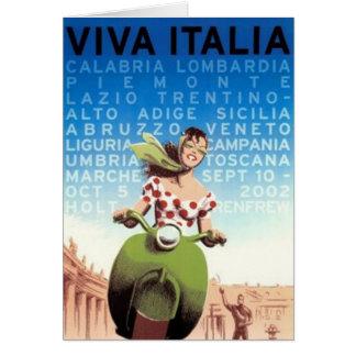 ヴィンテージ旅行イタリア- カード