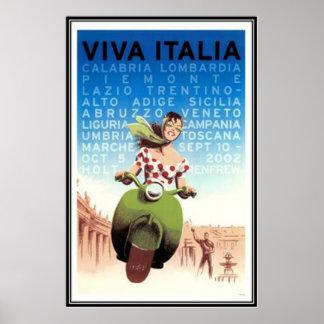 ヴィンテージ旅行イタリア- ポスター