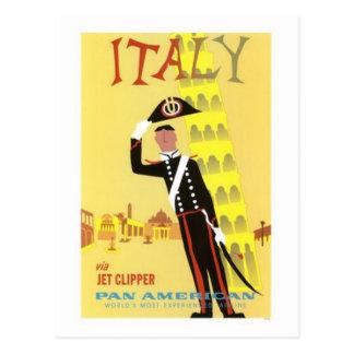 ヴィンテージ旅行イタリア- ポストカード