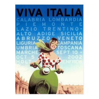 ヴィンテージ旅行イタリア- 葉書き