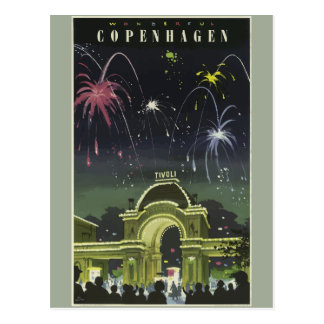 ヴィンテージ旅行コペンハーゲンドイツ ポストカード