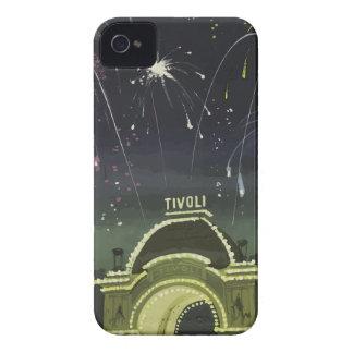 ヴィンテージ旅行コペンハーゲンドイツ Case-Mate iPhone 4 ケース