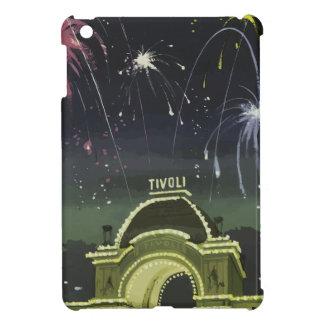 ヴィンテージ旅行コペンハーゲンドイツ iPad MINI カバー