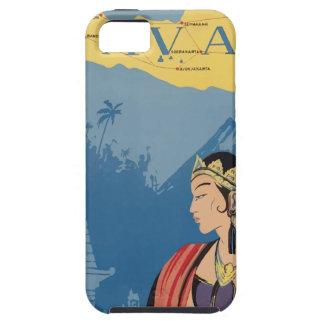 ヴィンテージ旅行ジャワインドネシア iPhone SE/5/5s ケース
